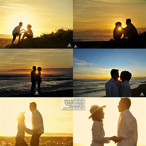 foto prewedding outdoor sunset  jogja nikenpandu