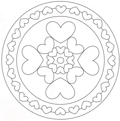 imagenes de mandalas para niñas mandalas on pinterest adult coloring pages coloring