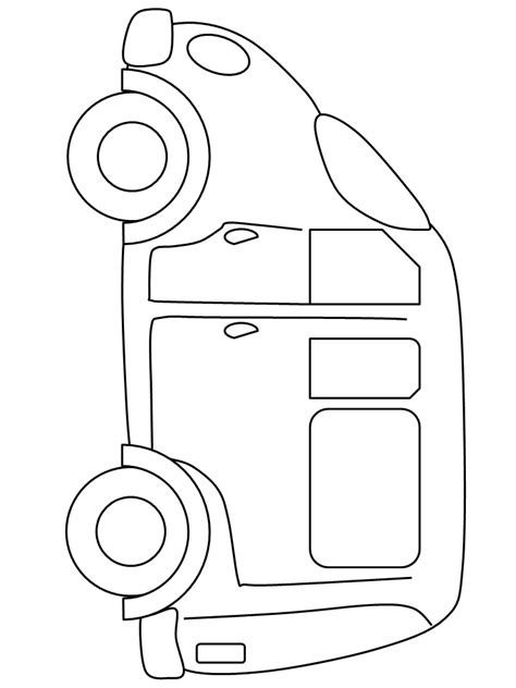 minivan coloring page free coloring pages of minivan