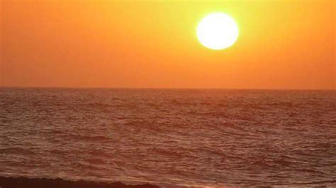 salida de sol salida de sol desde la playa de almeria