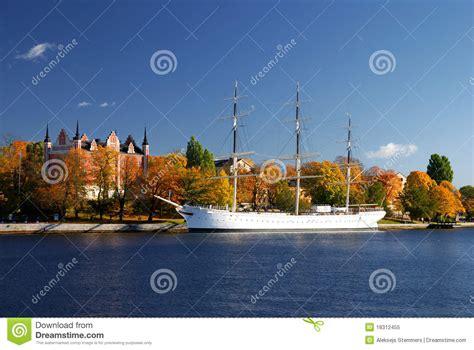 porto di stoccolma porto bianco della nave della citt 224 di stoccolma