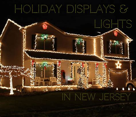 holiday displays lights in new jersey