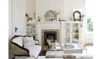 living room with white cozy white