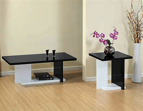 modern white coffee table set black coffee table sets for unique your living spaces look
