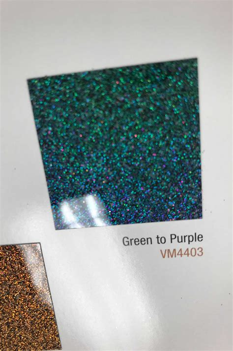 ppg waterborne technology green purple paint swatch lowrider