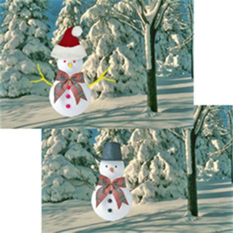 holographic santa claus lenticular mail postcards 4 x 6 santa hat on snowman l lantor ltd