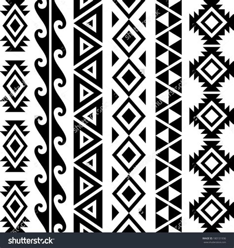 Tribal Pattern Design Images | hawaiian triangle tribal patterns moana polynesian