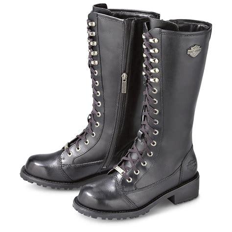 s harley davidson 174 kate boots black 140489