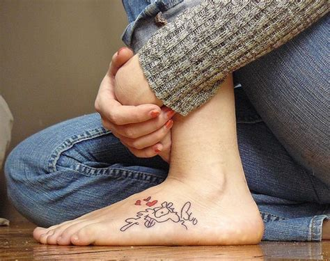 tattoo ideas on foot tattoo pictures