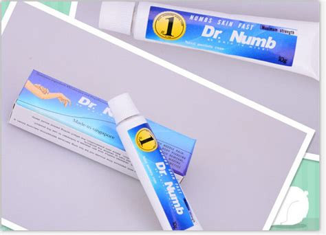 hair removal cream on tattoo topical anesthetic numb skin numbing