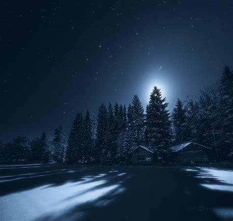 in the night of i captured the finnish night sky bored panda