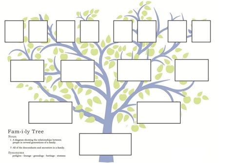 220 ber 1 000 ideen zu stammbaumvorlagen auf pinterest