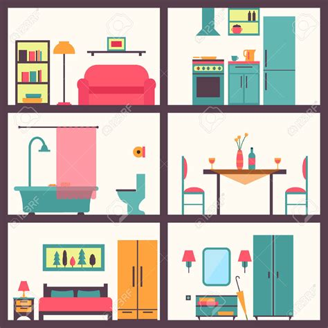 in house room clipart in house pencil and in color room clipart