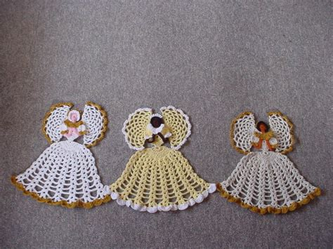 free patterns angel crochet crinoline lady angel free original patterns crochetville