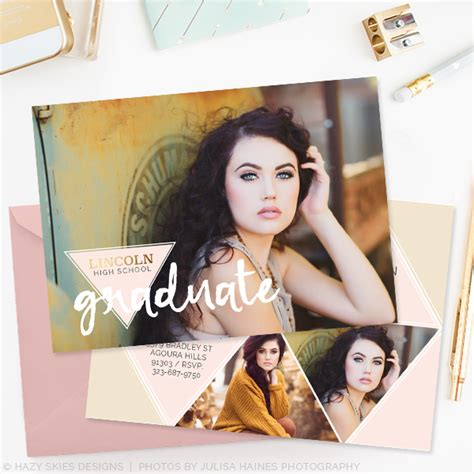 senior graduation announcement template free spirit