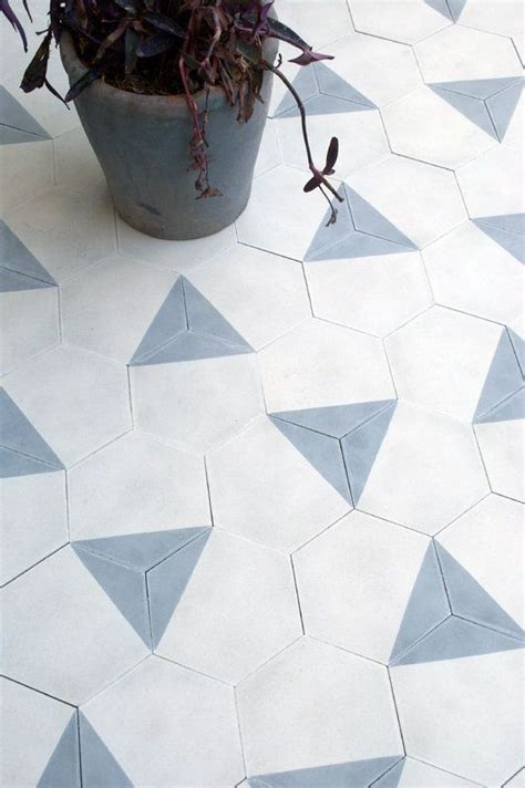 white hexagon bathroom floor tile ideas  pictures