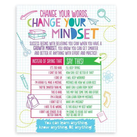 growth mindset handbook poster positive promotions
