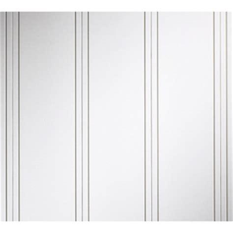evertrue beadboard evertrue 0 25 in x 5 46 in x 8 ft primed white mdf wall panel
