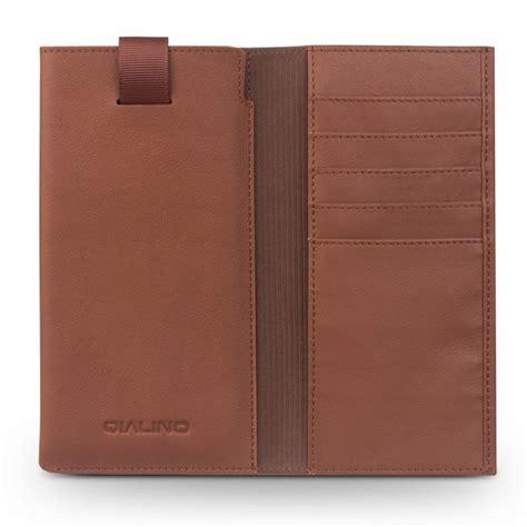 Pouch Brun Brun qialino universal pouch wallet i 228 kta l 228 der brun