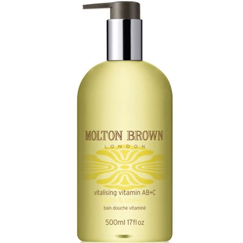 molton brown bath and shower molton brown vitalising vitamin a b and c bath and shower 500ml free delivery