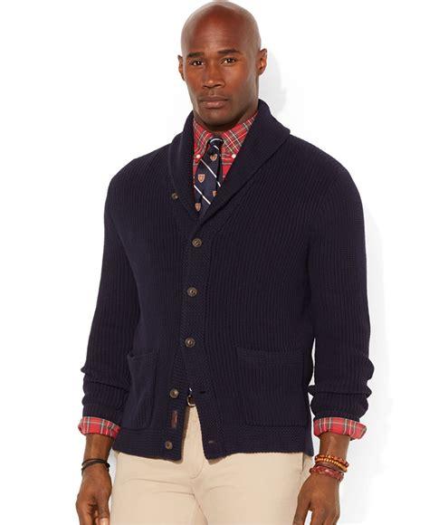 Polo Collar Sweater polo ralph big and shawl collar cardigan