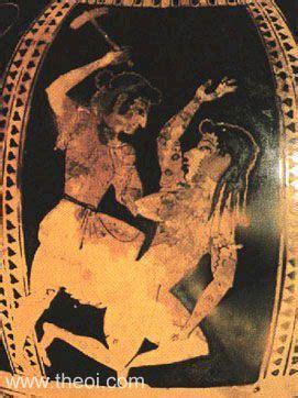 Humm3r Athena Black adikia goddess or spirit of injustice