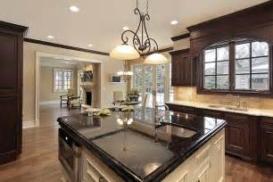 Black Granite Kitchen Island by 143 Luxury Kitchen Design Ideas Designing Idea
