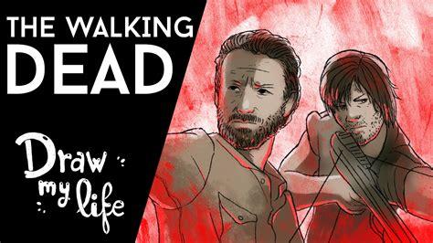 misteri film the walking dead historia de the walking dead movie draw youtube