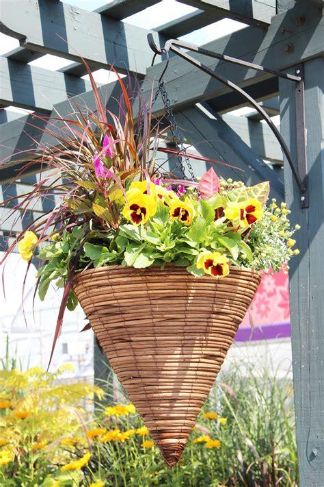 fall hanging basket fall hanging baskets hanging flower
