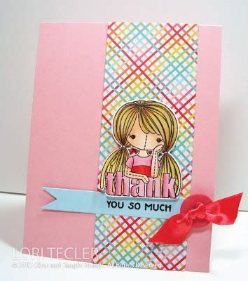 7 days to die rag doll thank you card clear and simple sts by inking