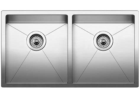 blanco sink dxf blanco precision 16 r10 medium equal blanco