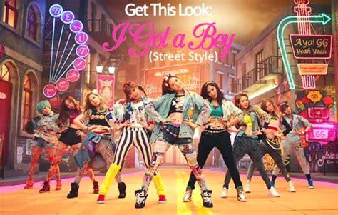 tutorial dance snsd i got a boy get this look i got a boy mv street style the