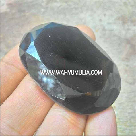 Batu Satam Meteorit Billitonite batu satam meteorit tektit kode 272 wahyu mulia