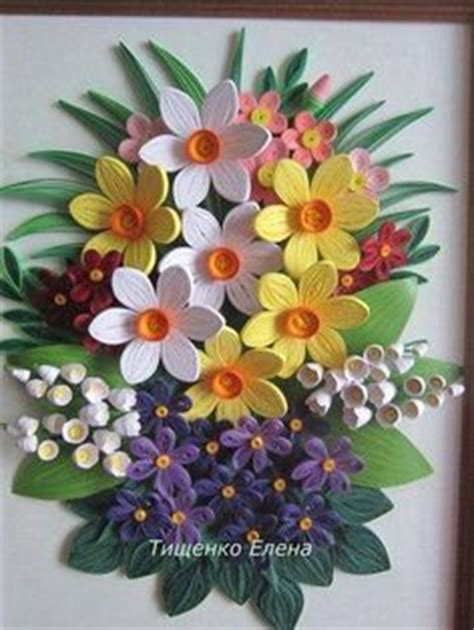 Modern Quilling Vorlagen Ostern Quilled Daffodils Paper Crafts Quilling Papier Und Suche