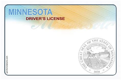 driver license template driver s license birthday invitations all states