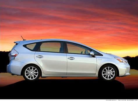 toyota big cars toyota prius v 8 small cars cargo space vs parking