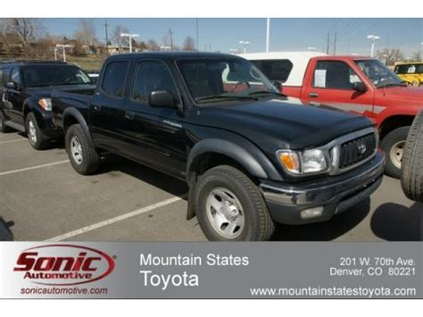 Used Toyota Tacoma 4x4 For Sale In Used 2004 Toyota Tacoma V6 Cab 4x4 For Sale Stock