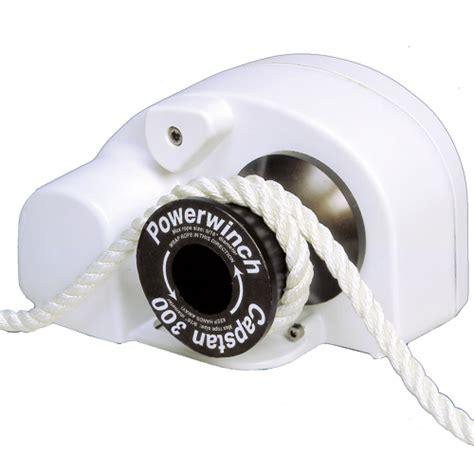 boat winch west marine powerwinch capstan 300 rope winch west marine