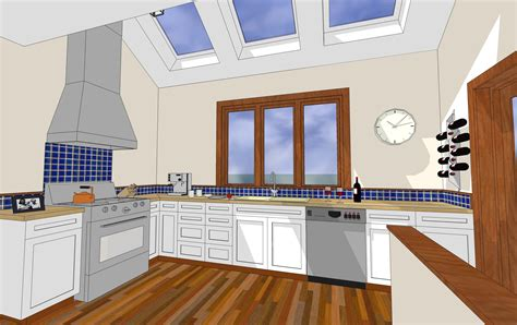 google sketchup kitchen design image gallery sketchup kitchen
