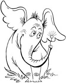 today i will show you how to draw horton the elephant