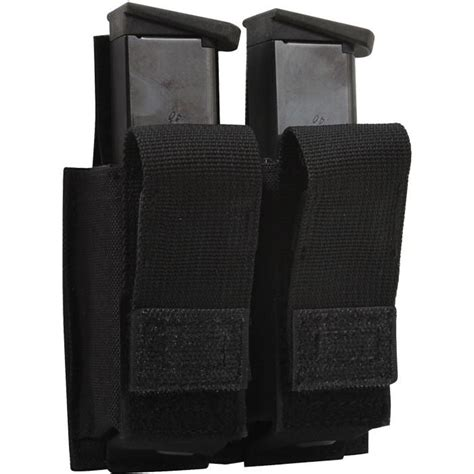 Molle 9 Mm Mag Pouch Black black tactical molle 9mm pistol mag pouch inserts army navy store