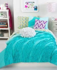 Aqua Duvet Set Ella Teal Ruffle Comforter Set Everything Turquoise