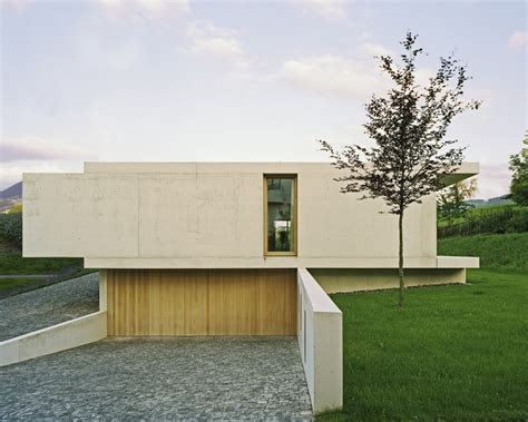 One Storey House by Contemporary One Storey House In Zurich Homedezen