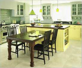 kitchen table island combo with attached hou dining room