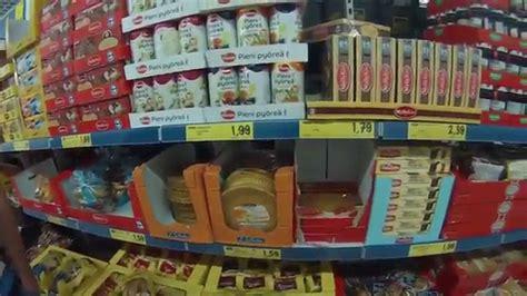 shopping in lidl grocery store kauppakeskus kpi