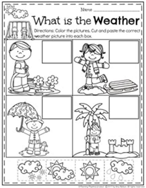 weather pattern activities february preschool worksheets weather worksheets