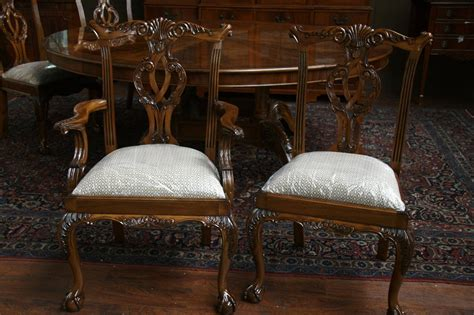 Reproduction Mahogany Dining Chairs Mahogany Chippendale Dining Chairs Reproduction Furnitu With Mahogany Dining Room Chairs