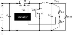 average diode current buck converter remember the mosfet diode ee world a