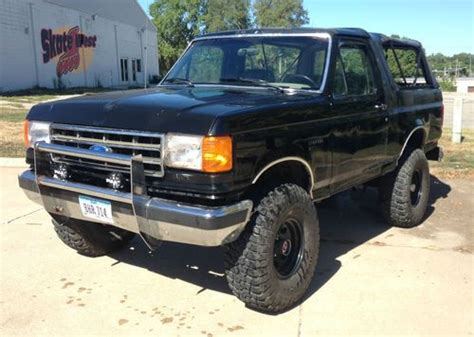 auto body repair training 1989 ford bronco transmission control find used 1989 ford bronco xlt 5 8l 351 automatic in west des moines iowa united states