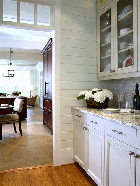 traditional white kitchen  transom window hgtv